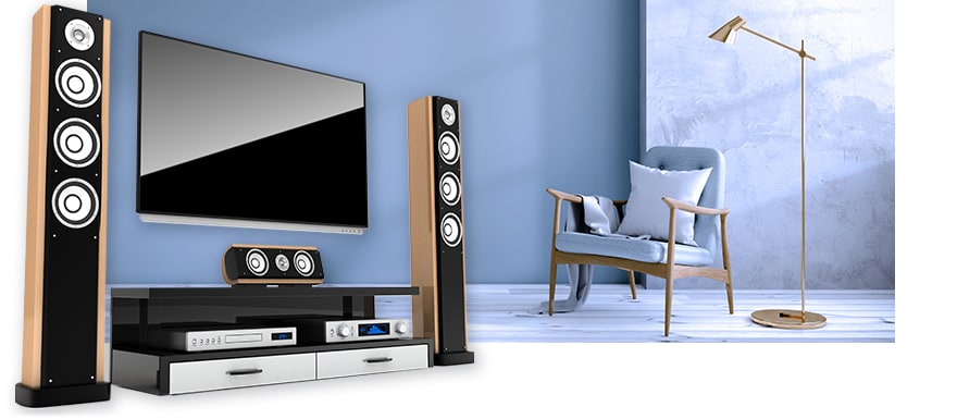 In the sky Home Theater Systems